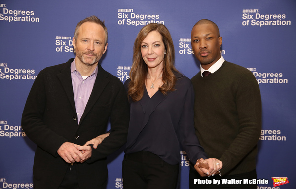 John Benjamin Hickey, Allison Janney and Corey Hawkins  Photo