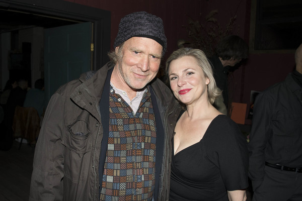 Angelica Page and Will Patton