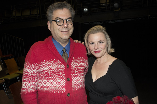 Michael Musto and Angelica Page