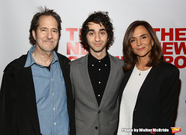 Michael Wolff, Alex Wolff and Polly Draper