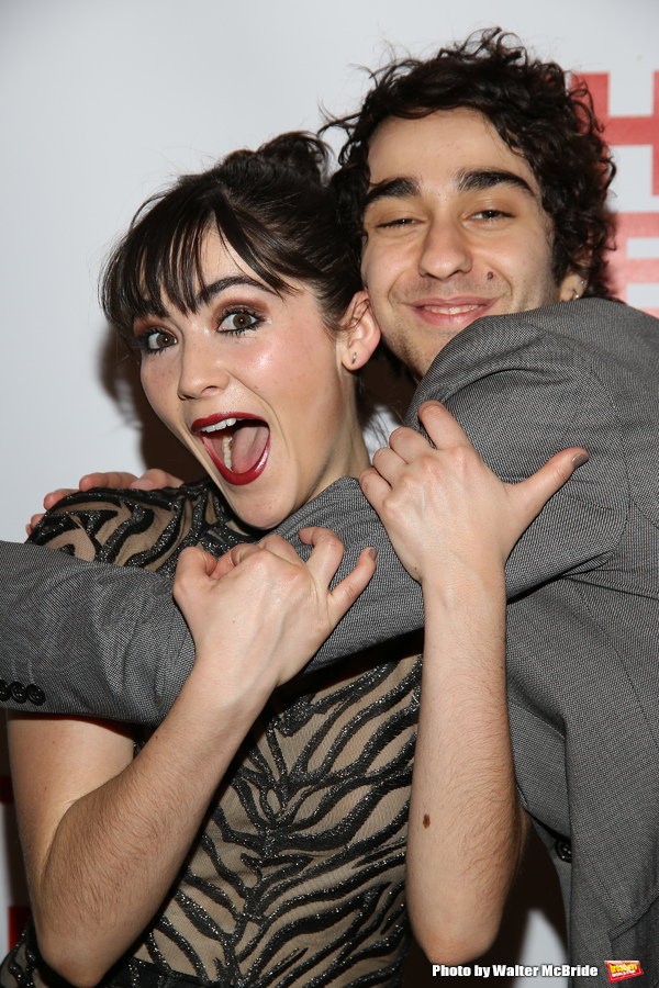 Isabelle Fuhrman and Alex Wolff