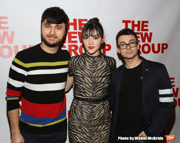 Brad Walsh, Isabelle Fuhrman and Christian Siriano