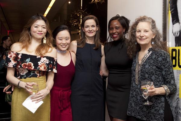 Ruibo Qian, Michele Selene Ang, Enid Graham, Crystal Lucas-Perry, and Lizbeth Mackay Photo
