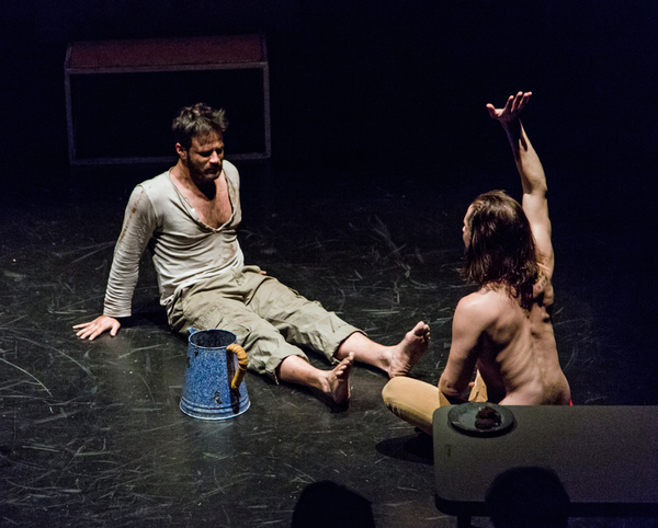 Photo Flash: First Look at THE LAST DAYS OF JUDAS ISCARIOT, Helmed by Estelle Parsons at La MaMa