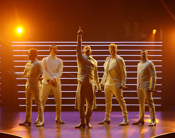 Brian Littrell, Kevin Richardson, AJ McLean, Nick Carter and Howie Dorough