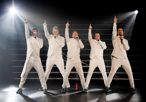 AJ McLean, Nick Carter, Brian Littrell, Howie Dorough and Kevin Richardson Photo