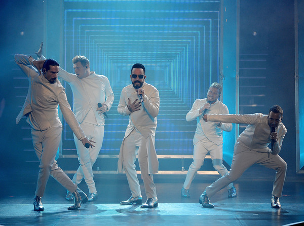 Kevin Richardson, Nick Carter, AJ McLean, Brian Littrell and Howie Dorough Photo