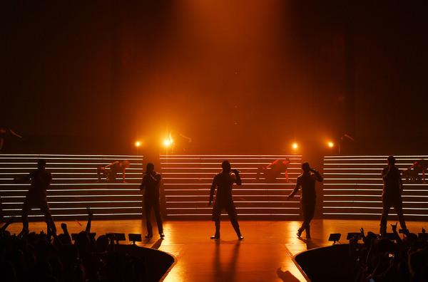 Photo Flash: Backstreet Boys Are 'LARGER THAN LIFE' at Planet Hollywood