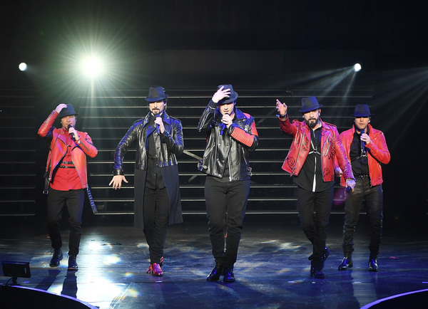 Brian Littrell, Kevin Richardson, Nick Carter, AJ McLean and Howie Dorough Photo
