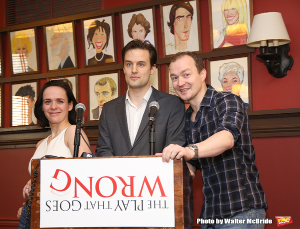 Photo Coverage: So Wrong, Yet So Right- Meet the Cast of THE PLAY THAT GOES WRONG on Broadway!
