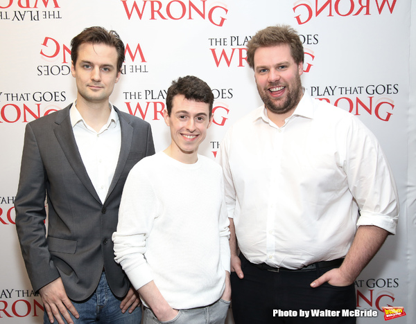 Henry Shields, Jonathan Sayer and Henry Lewis