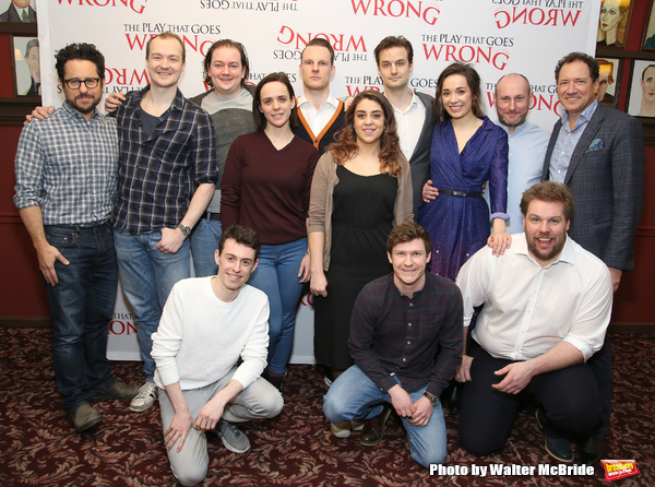 Jonathan Sayer, Matt Cavendish, Henry Lewis,  J.J. Abrams, Greg Tannahill, Rob Falconer, Charlie Russell, Dave Hearn, Nancy Zamit, Henry Shields, Bryony Corrigan, Mark Bell and Kevin McCollum
