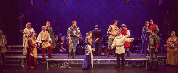 Photo Flash: First Look at CAMELOT IN CONCERT at The Barn Stage Company