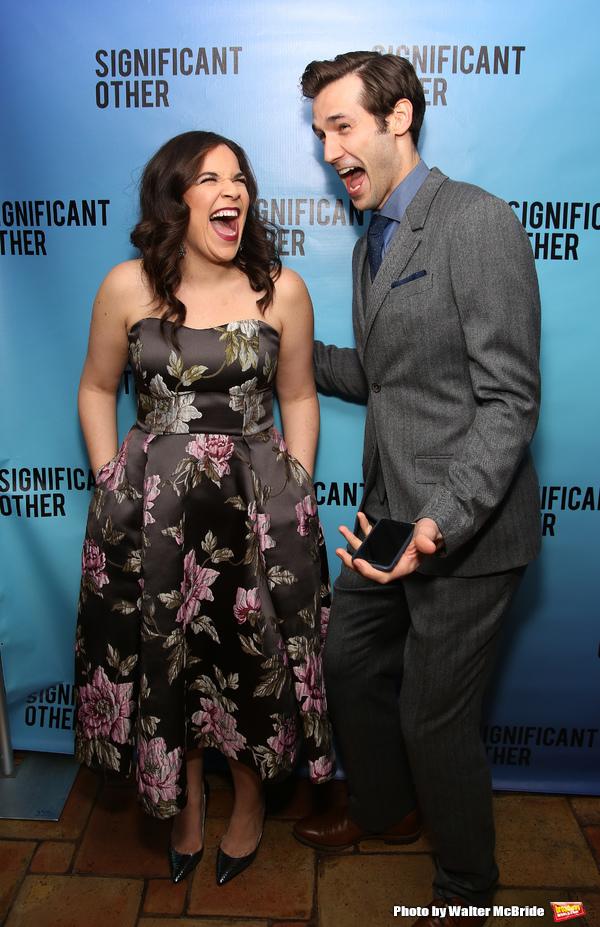 Lindsay Mendez and John Behlmann