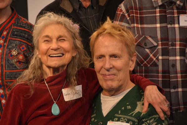 Lynn Cohen and John Gilman