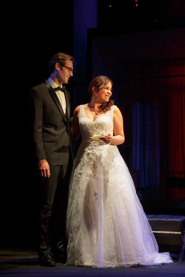 John Behlmann and Lindsay Mendez. Photo credit: Joan Marcus