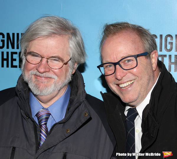 Christopher Durang and John Augustine