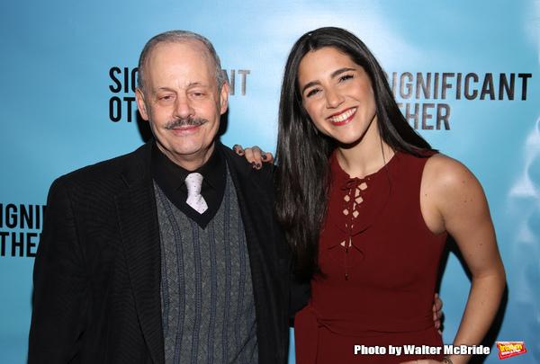 Jeffrey Richards and Samantha Massell