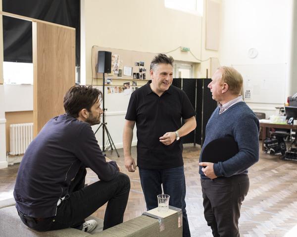 Adrian Scarborough, Patrick Marber and Adrian Scarborough