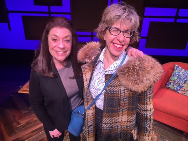 Monica Piper and Jackie Hoffman