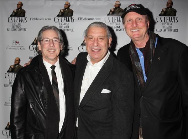 Michael Parva, Max McLean and Ken Denison Photo