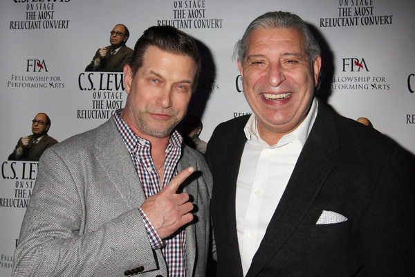 Stephen Baldwin and Max McLean Photo