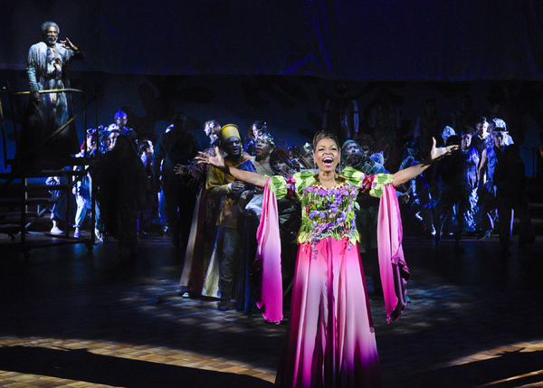 Liz Mikel and cast members of The Tempest Photo