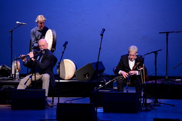 Matt Molloy, Kevin Conneff and Paddy Moloney