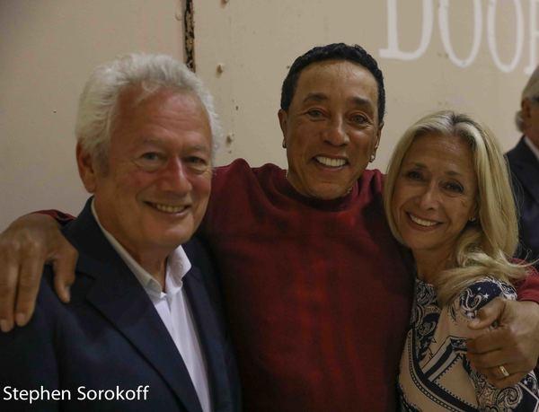 Stephen Sorokoff, Smokey Robinson, Eda Sorokoff