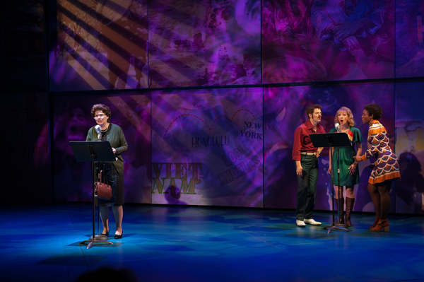 Photo Flash: First Look at Debra Monk, Boyd Gaines and More in James Lapine's MRS. MILLER DOES HER THING at D.C.'s Signature Theatre