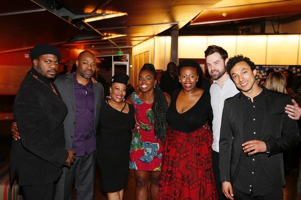 Marcus Henderson, Dayo Ade, Carla Renata,  Ngozi Anyanwu and Omoze Idehenre, Mark Jude Sullivan and Wade Allain-Marcus