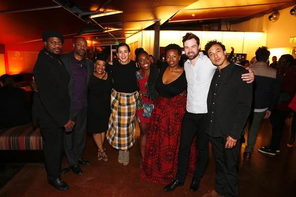 Marcus Henderson, Dayo Ade, Carla Renata,  Patricia McGregor,  Ngozi Anyanwu and Ooze Idehenre, Mark Jude Sullivan and Wade Allain-Marcus