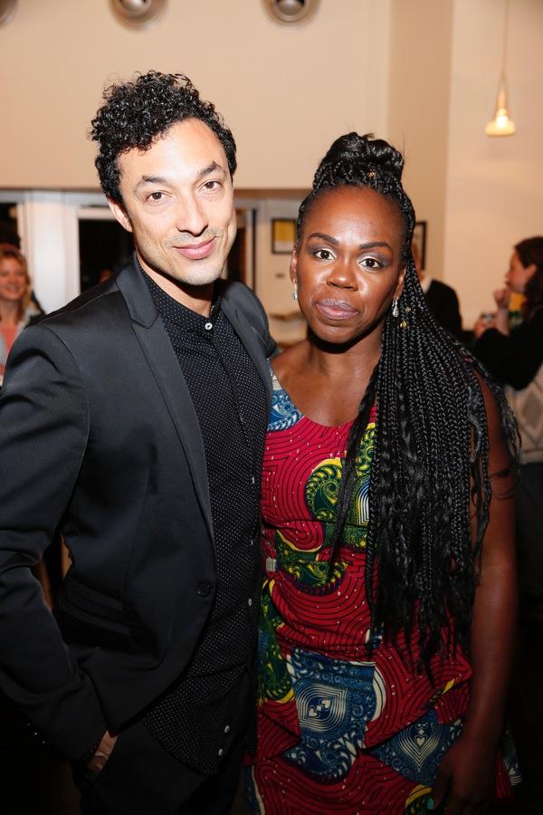 Wade Allain-Marcus and  Ngozi Anyanwu
