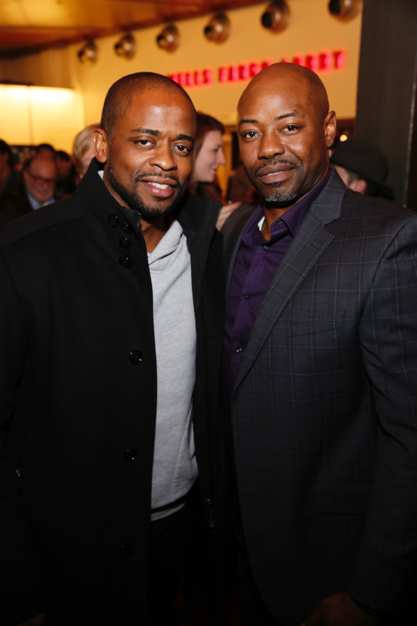 Dule Hill and Dayo Ade