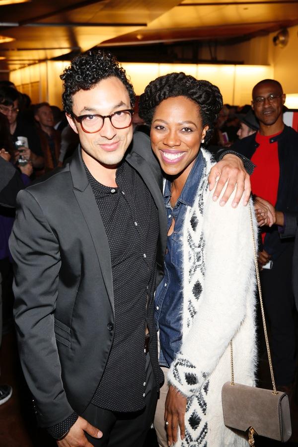 Wade Allain-Marcus and Yvonne Orji Photo
