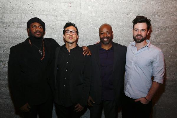 Marcus Henderson, Wade Allain-Marcus, Dayo Ade and Mark Jude Sullivan