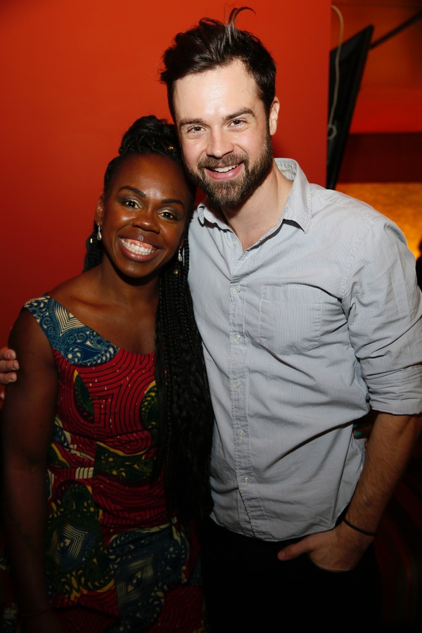Ngozi Anyanwu and Mark Jude Sullivan Photo