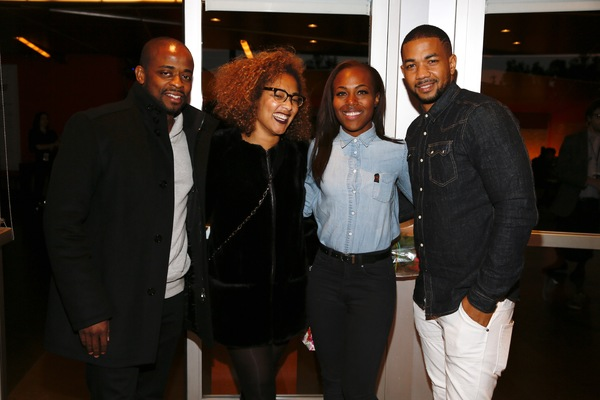 Dule Hill, Amanda Seales, DeWanda Wise and Alano Miller