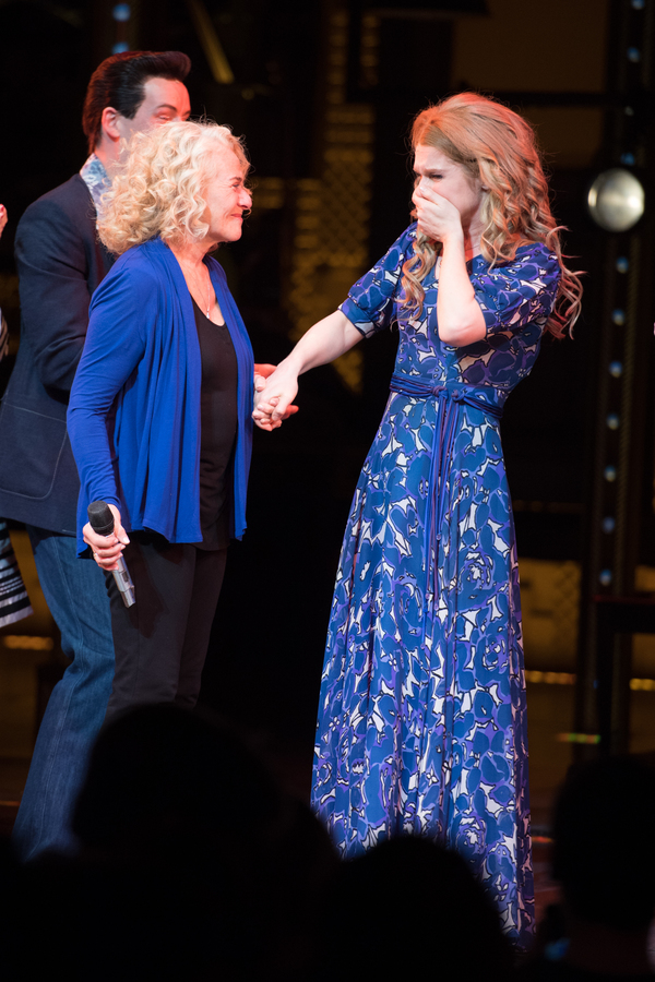 Carole King and Cassidy Janson