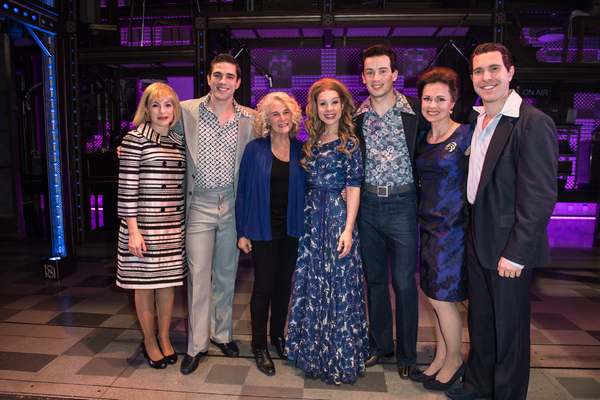 Lorna Want, Ian McIntosh, Carole King, Cassidy Janson, Matthew Seadon-Young, Barbara Drennan, and Joseph Prouse