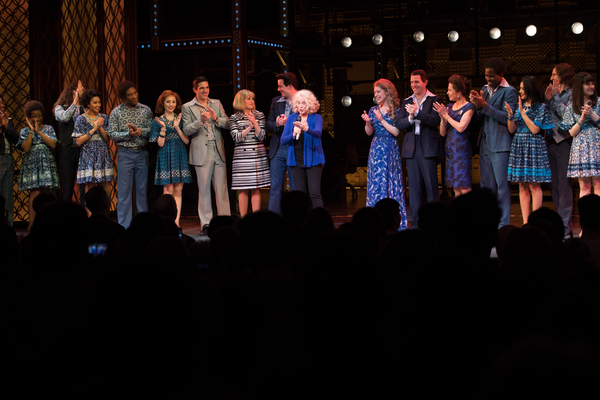Carole King surprises West End cast of BEAUTIFUL - THE CAROLE KING MUSICAL