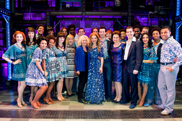 Carole King and West End cast of BEAUTIFUL - THE CAROLE KING MUSICAL