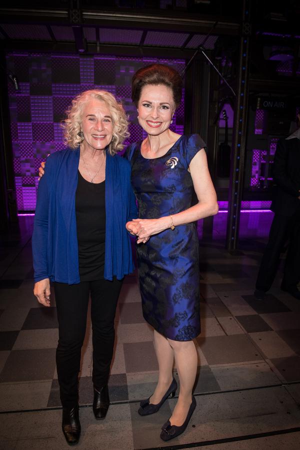 Carole King and Barbara Drennan