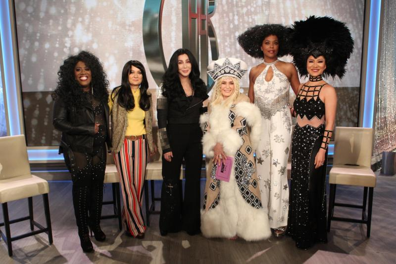 THE TALK, with Special Guest Cher, Delivers Show's Most Watched Tuesday of the Season