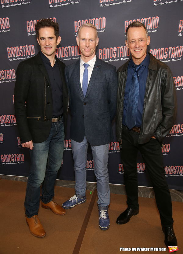 Andy Blankenbuehler, Richard Oberacker and Robert Taylor
