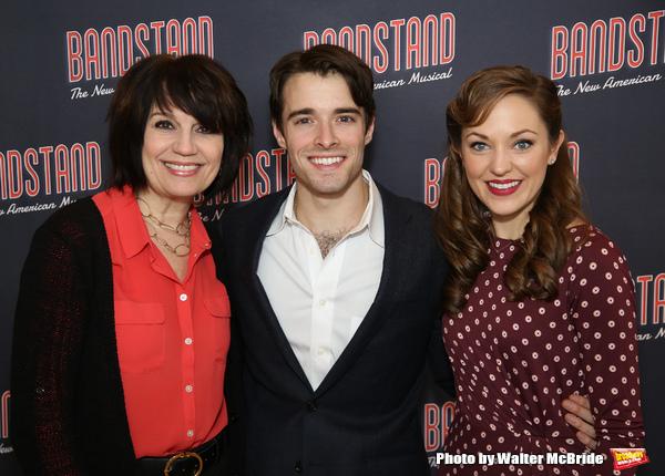Beth Leavel, Corey Cott and Laura Osnes