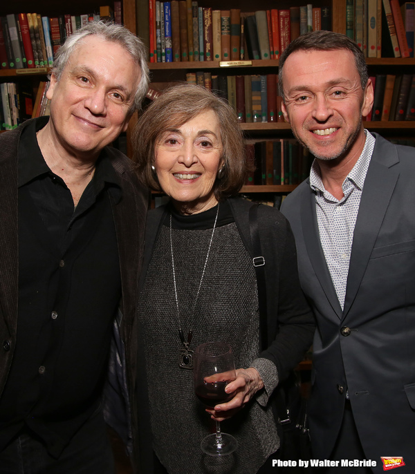 Rick Elice, Nancy Ford and Andrew Lippa