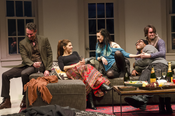 Omar Metwally, Marisa Tomei, Lena Hall, Austin Smith, and David McElwee