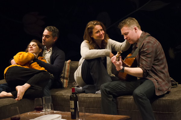 Marisa Tomei, Omar Metwally, Robin Weigert, and Brian Hutchison