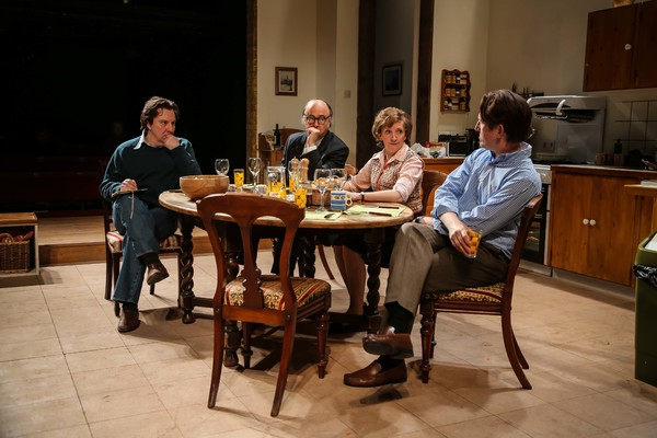Roger Allam, Paul Chahidi, Debra Gillett, Tom Goodman-Hill Photo